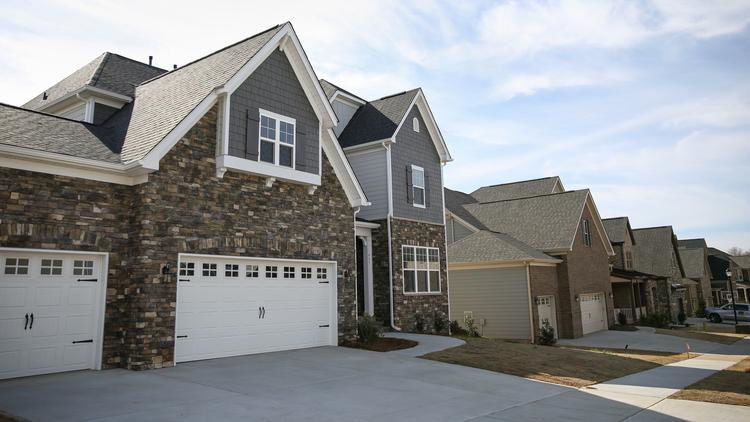 Taylor Morrison is building in several new communities in the area, including Waterside at the Catawba in Fort Mill MELISSA KEY