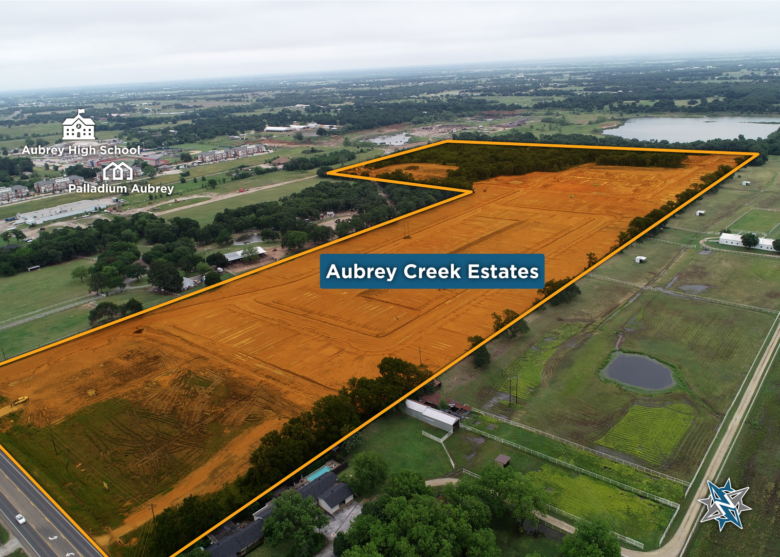 2- Aubrey-Creek-Estates-Aerial-SiteMap